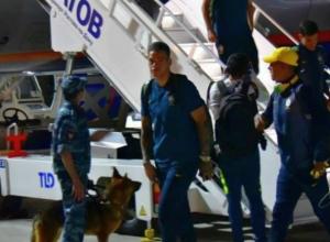 Сошедшую с трапа самолета сборную «избранных» из Бразилии поймали на фото в аэропорту Ростова