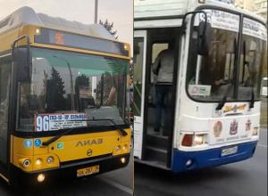 Новым автобусам мешают перевозить ростовчан по улицам города
