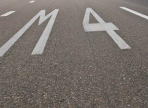 На трассе М-4 в Ростовской области ограничили движение транспорта
