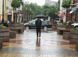 Небольшим дождем и прохладной погодой встретит вторник ростовчан