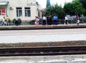 Таганрогский вокзал «заминировали» пакетом с шаурмой