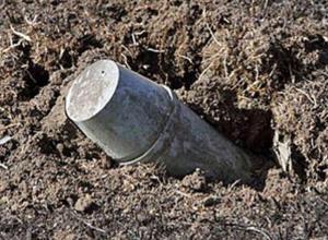 В Ростовской области рядом с КПП Гуково найдено 5 неразорвавшихся снарядов