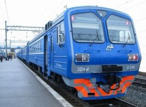 С 1 февраля РЖД отменят электрички из Ростова в Краснодарский край