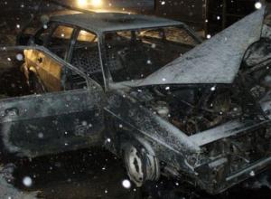 В Ростовской области сгорели шесть автомобилей