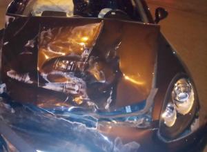 Лихач на «Порше» проскочил на красный и устроил мясорубку на перекрестке в Ростовской области