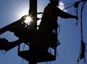 В Новочеркасске из-за грозы целый район остался без света