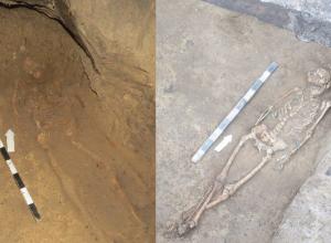 Захороненных в одной могиле мужчину и женщину нашли в Ростове во время раскопок