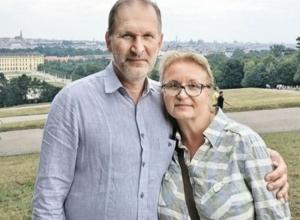 Донской актер Федор Добронравов и его жена отметили 35-летие совместной жизни