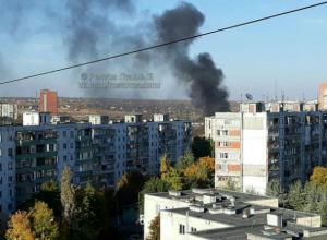 Вонючий мусор полыхал и пугал местных жителей в Ростове