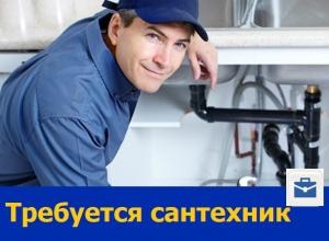 В Ростове требуется сантехник на стандартные работы