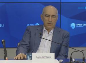 Курбан Бердыев назвал итоги чемпионата волей всевышнего