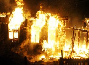 Заживо сгорел вместе со своим домом житель частного сектора Ростова