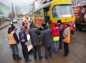 Водитель трамвая в Ростовской области нарушил ПДД и задавил пешехода