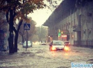 В Ростовской области в ближайшие часы дождь достигнет критического значения