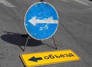 Искать пути объезда придется скоро автомобилистам на Бягатяновском спуске в Ростове