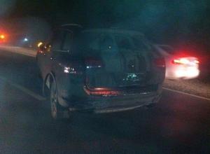 На трассе в Ростовской области из-за тумана столкнулись четыре автомобиля