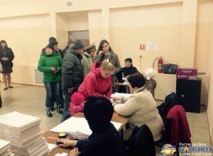 В Ростовской области на выборах глав и депутатов ДНР и ЛНР явка избирателей составила  почти 70 %