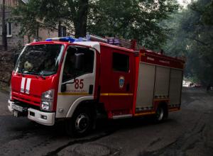 Мужчина обгорел до неузнаваемости на пожаре в Ростовской области