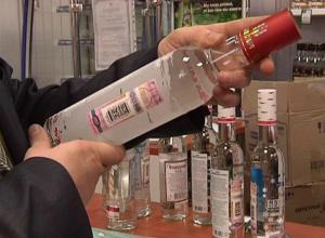 Опасной паленой водкой под видом известных брендов торговал спекулянт из Ростовской области