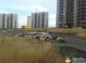 В Ростове новый микрорайон Суворовский утопает в мусоре и зарослях амброзии
