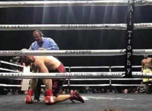 Кубинский боксер нокаутировал Дмитрия Кудряшова в бою за звание чемпиона мира в тяжелом весе
