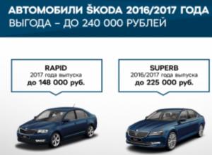 Специальные предложения для клиентов ŠKODA в июне
