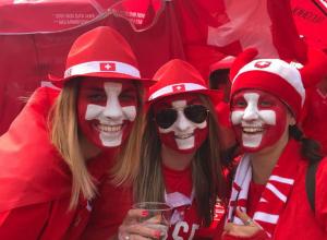 Темпераментные бразильцы и швейцарцы взбудоражили Ростов перед матчем на «Ростов Арене»