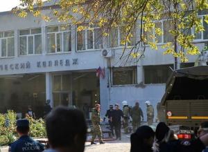 Ростовские спасатели отправили в Керчь комплекс для диагностики здания после взрыва