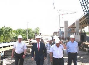 В Ростове строительство дублера Ворошиловского моста идет с опережением графика