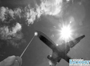 В Ростовской области пилотов самолета «Киев-Ростов-на-Дону» ослепили лазером