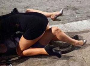 Жертвой жестокой семейной экзекуции стала молодая ростовчанка в центре города