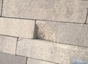 Бракованная и испорченная плитка на главной улице Ростова возмутила горожан