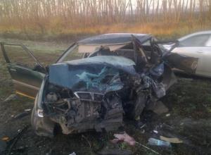 В Ростовской области женщина-водитель спровоцировала ДТП с пятью авто:1 погиб,2 травмированы. ФОТО