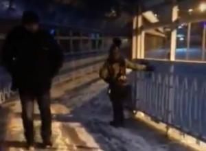Увлекательная прогулка пешеходов по «сворачивающему шеи» акведуку Ростова попала на видео