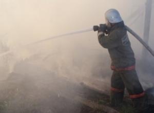 В Ростове в пожаре погибли три человека