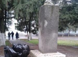 В Ростовской области вандалы разрушили памятник Ленину