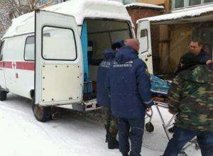 В Ростовской области спасатели доставили в больницу 200-килограммовую женщину