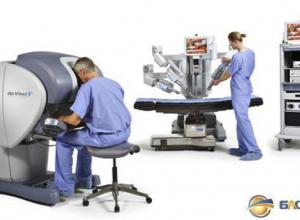 В Ростове презентован роботизированный комплекс для проведения хирургических операций