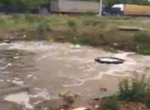 Горячий гейзер превратил часть Ростова в бесценную Камчатку