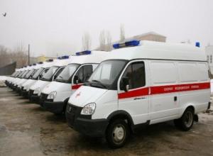 Два новых автомобиля скорой помощи появились в Таганроге