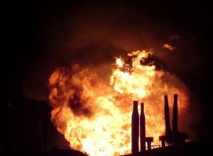 Пожар на газонаполнительной станции в Ростове потушен