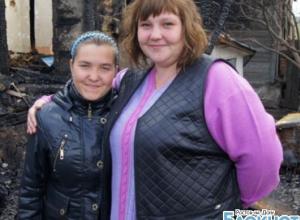 В Ростовской области сотрудница администрации спасла из огня школьницу
