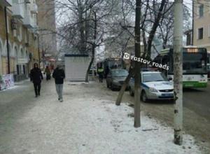 Автобус переехал ногу выходившей пассажирки в Ростове