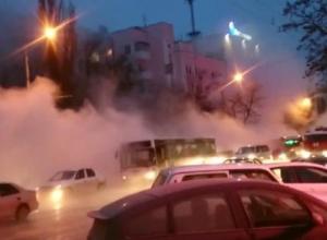 В Ростове из-за порыва теплотрассы 11 человек получили ожоги