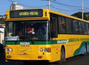 Автобусы из Батайска в Ростов вернутся на улицу Станиславского в мае