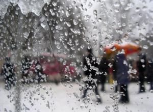 В выходные в Ростовской области ожидается дождь со снегом и гололедица