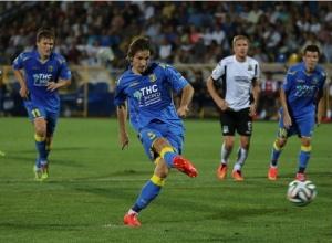 «Ростов» уступил «Краснодару» со счетом 0:2 на своем поле