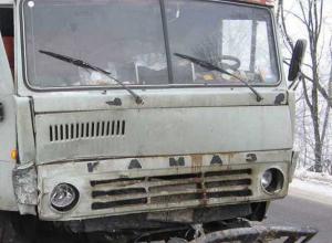 В Ростовской области 19-летний водитель иномарки лоб в лоб врезался в КамАЗ: 5 пострадали