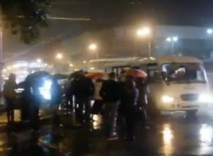 Еще одну проклятую остановку обнаружили водители машруток в донской столице