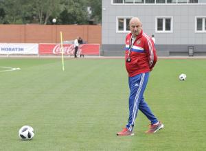 Сборная России по футболу потренировалась в Ростове-на-Дону